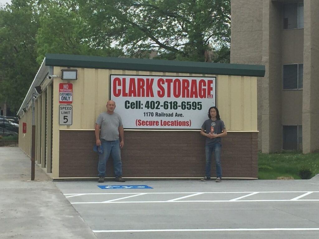 1170 Railroad Avenue, Council Bluffs storage units
